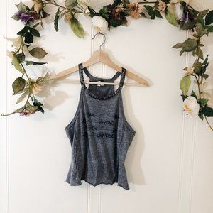 Free People We the Free Small Charcoal Tank